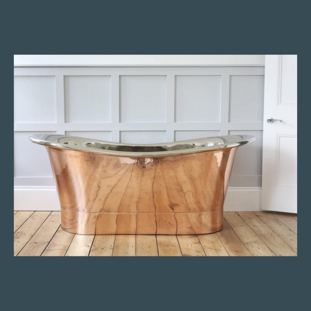 Coln Copper Bath The Colour House