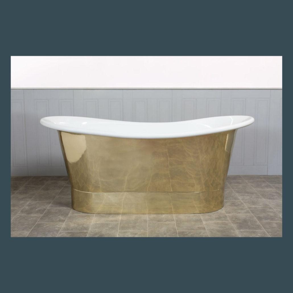 Conwy Brass Bath - The Colour House