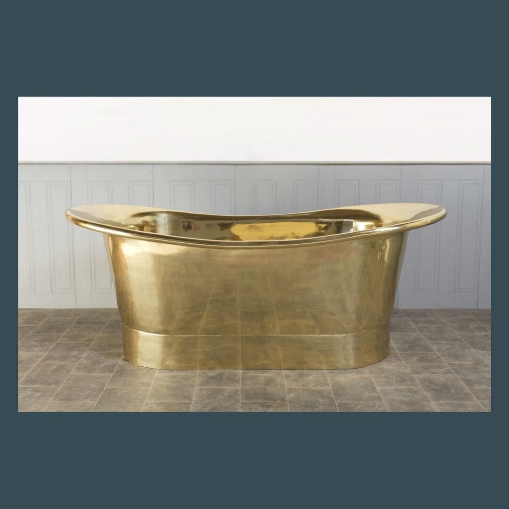 Dee Brass Bath - The Colour House