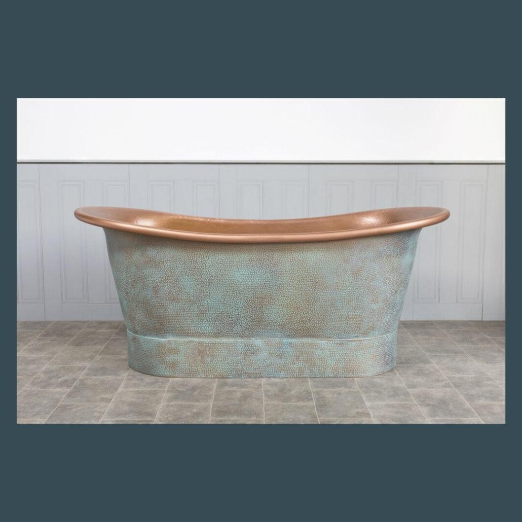 Dove Copper Bath - The Colour House