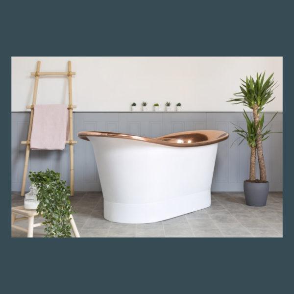 watersplash copper bath
